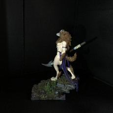 Picture of print of Oleana the Werewolf Queen