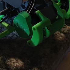 Traxxas motor bumper