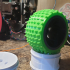 """Traxxas compatible 2.8"""" wheels/tires-12mm hex GLUELESS image"""