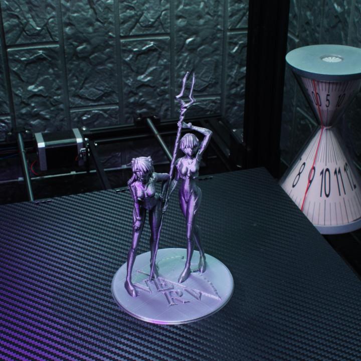 Rei & Asuka - Neon Gensis Evangelion Support Free Remix