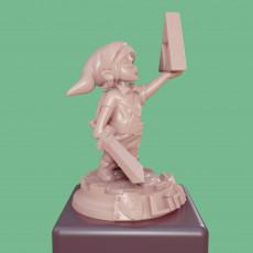 Zelda - Link Figure FanArt