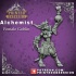 Alchemist - Goblin - Female - Artificer - 32mm scale - D&D - Printed Obsession image