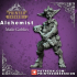 Alchemist - Goblin - Male - Artificer - 32mm scale - D&D - Printed Obsession image
