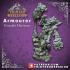 Artificer - Armourer - Female Human - 32mm - D&D miniature image