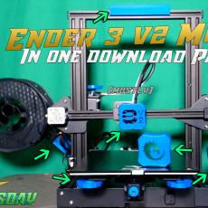 Technivorous Ender 3 v2 Mod Pack