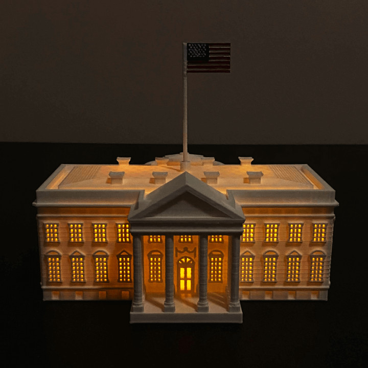 The White House (Lamp) - USA