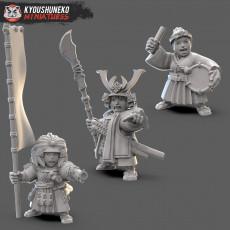 Dwarf Female Samurai Command Group