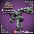 Artificer - Armourer - Male Human - 32mm - D&D miniature image