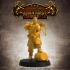 Adventurers Guild - LEVEL UP! Artificer Male (32mm scale modular Miniature) - set of 3 figures image