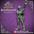 Artificer - Artillerist - Female Orc - 32mm - D&D miniature image