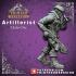 Artificer - Artillerist - Male Orc - 32mm - D&D miniature image