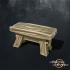 Wooden Trestle Stool image