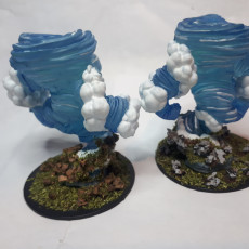 Picture of print of Air elementals