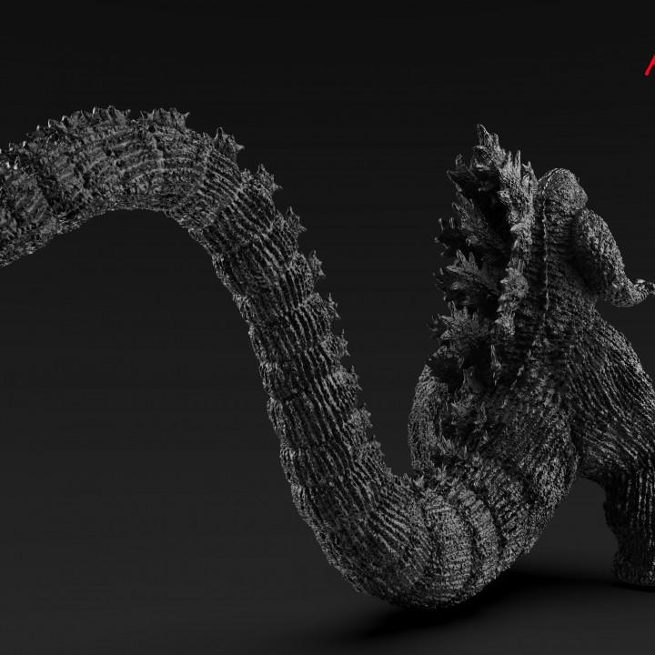 Godzilla_1995_Full Body_H30cm