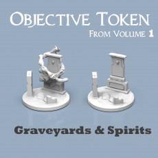 Objective Token : Graveyards & Spirits