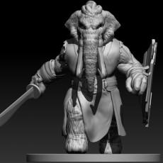 Loxodon Barbarian  (Mammoth Variant)