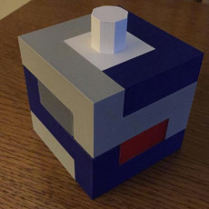 Interlocking Cube Puzzle