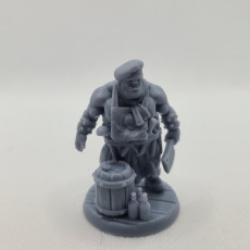 Picture of print of Townfolks Ogre Cook