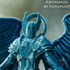Picture of print of Archangel
