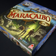 Insert/Organizer & Overlays pour le Jeu de Plateau MARACAIBO VF