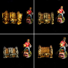 Picture of print of Dungeon Chests, Set of four