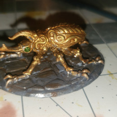 Picture of print of Rhino Beetle - Steel defender - Artificer Familiar - 32mm  - D&D