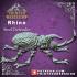 Rhino Beetle - Steel defender - Artificer Familiar - 32mm  - D&D image