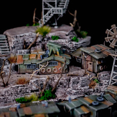 Picture of print of Battlefields of Tomorrow - Shanty Town