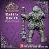 Battle Smith - Artificer- Male Dwarf - 32mm - D&D image