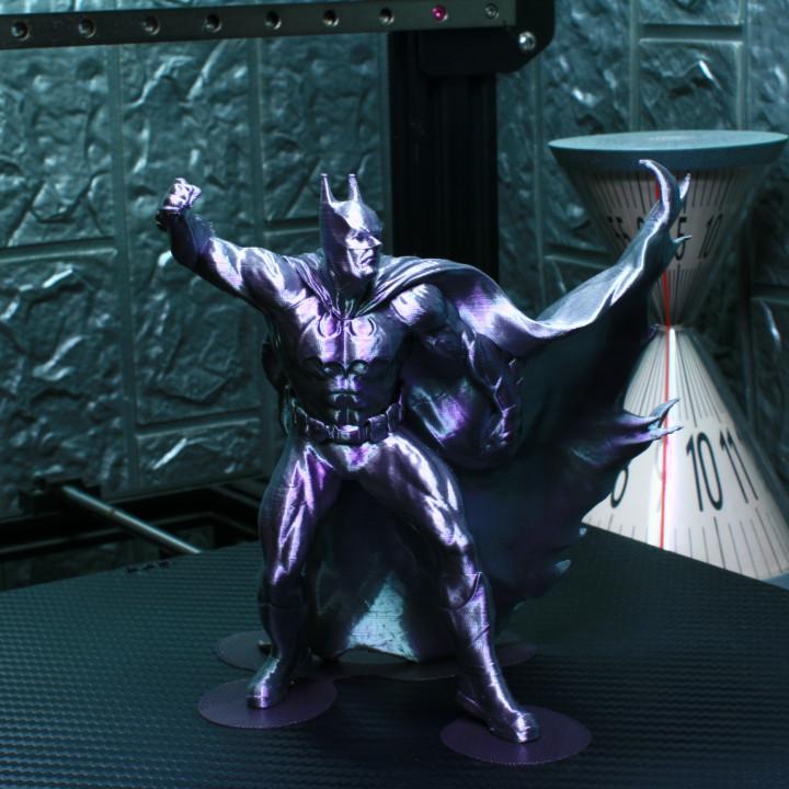 Batman on a roof Support Free Remix