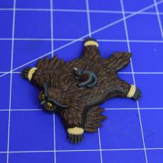 Picture of print of Owlbear skin rug