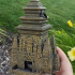 Monk Dice Tower (Decorative Tower NOT included) SUPPORT FREE! image