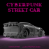 CyberGlow City Cyberpunk Street Car image