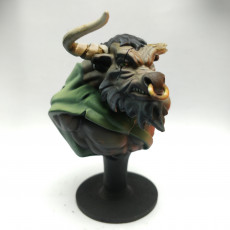 Picture of print of Minotaur Bust
