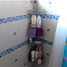 Hanging Shower Caddy (Life Hack)