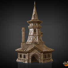 Bard Dice Tower (Decorative Tower NOT included) SUPPORT FREE!