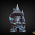 Sorcerer Dice Tower (Decorative Tower NOT included) SUPPORT FREE! image