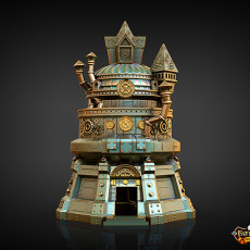 Artificer Dice Tower (Decorative Tower NOT included) SUPPORT FREE!