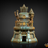 Artificer Dice Tower (Decorative Tower NOT included) SUPPORT FREE! image