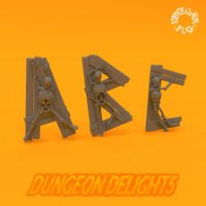 Dungeon Delights - Alphabet
