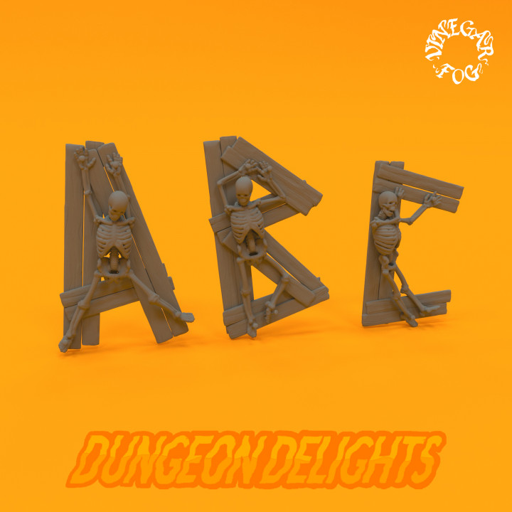 Dungeon Delights - Alphabet's Cover