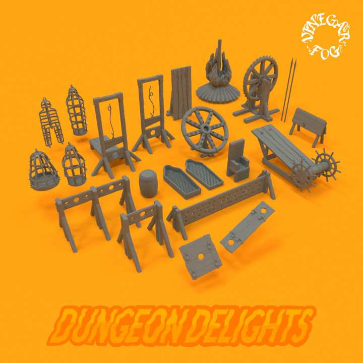 Dungeon Delights - Devices's Cover