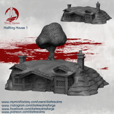 Halfling Village - House 1