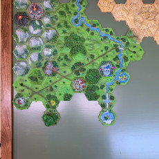 Picture of print of Hexton Hills Core Set