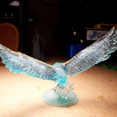 Picture of print of Eagle from the lord of the ring, adapted to table top game (28mm)