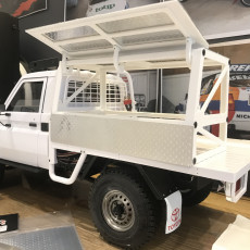 Canopy Frame for the Killer Body Toyota LC70