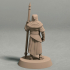FREE – Night's Cult soldier with spear pose 1 miniature – STL file image