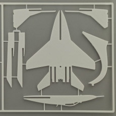 MiG-29 kit card