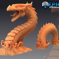 Sea Serpent / Leviathan / Ocean Monster