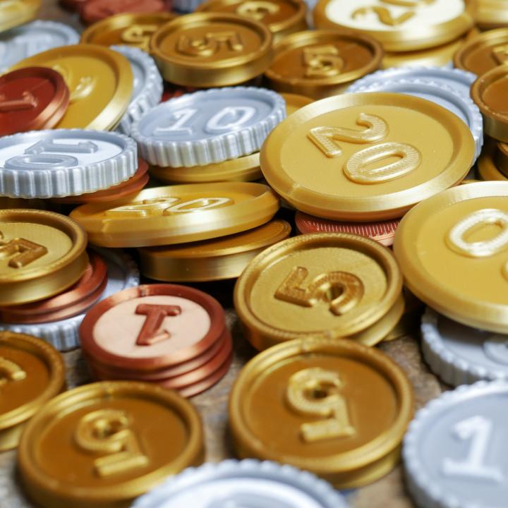 Treasure Coins